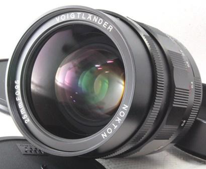 Voigtlander(フォクトレンダー) NOKTON 25mm F0.95
